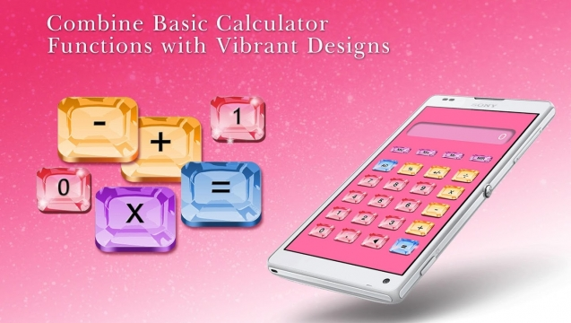 Pretty Calculator now available on your mobile!